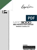 MPC3000 V3.0 Manual