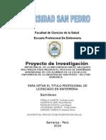 Proyecto de Inversion Salud