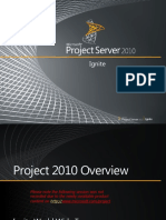 Microsoft Project 2010 Overview