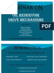 Oil Reservoir Drive Mechanisms Presentation