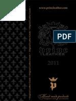 Princ Leather - Katalog 2011   Leather Accessories - 2011 Catalogue