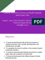 General Nutrition Animal Husbandry Slides
