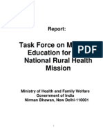 Task Group on Medical Education