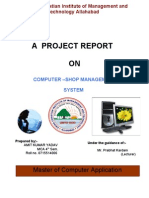 Computer -Shop Management System