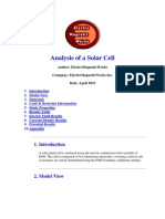EMS Solid Works Solar Cell