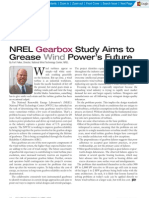Articel_Gearbox Study Aims to Grease Wind Power's Future