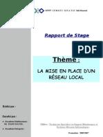 Exemple de Rapport de Stage