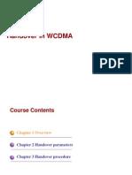 WCDMA Interat Hand Over