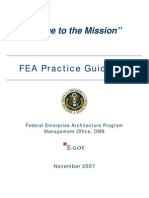 FEA Practice Guidance Nov 2007[1]