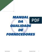 Manual Qualidade Fornecedores