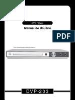MANUAL DO USUÁRIO PROVIEW DVP203
