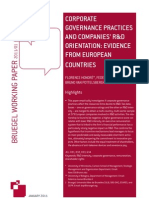 110124 Wp Corporate Governance Practices
