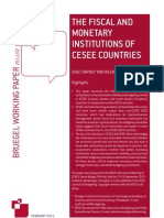 110213 WP the Fiscal and Monetary Institutions of CESEE Countries