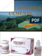 Glass Ionomer Cement