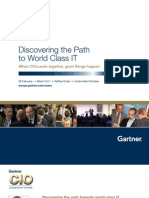 Discovering the Path to World Class IT
