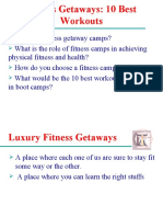 Fitness Getaways 10 Best Workouts