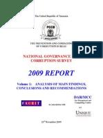 volume 1 analysis of main findings