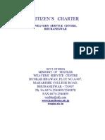 HL Citizen Charter WSC Bubnswar