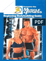 Begining Bodybuilding Guide