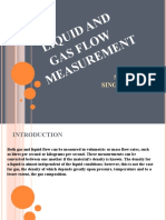 Gas and Liquid Flow Measurement