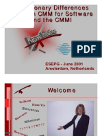 difference between cmm cmmi