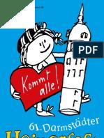 Heinerfest Programmflyer 2011