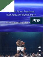 Orbit Floor Fractures