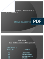 Copy of Public Relation Media