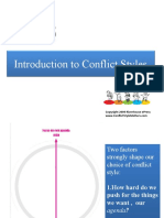 Intro to Conflict Styles 2011