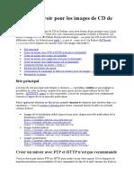 Créer un miroir pour les images de CD de Debian