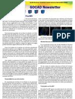 GOCAD_Newsletter - Noviembre 2005