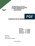 Auditoria, controles y tecnica