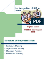 Planning ICT Integration
