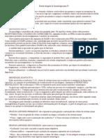 Estudo Dirigido de Imunologia Para P1
