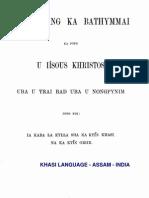 Khasi Bible - New Testament
