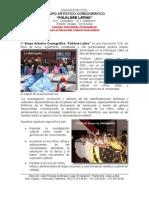 GAC Folklore Latino - Dossier