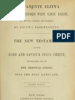 Zulu Bible - New Testament