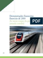 Guia Demonstracoes Financeiras Exercicio 2010
