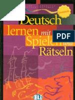 Deutsch lernen mit Spielen und Rästeln