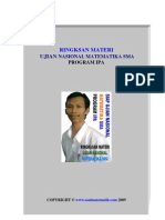 Ringkasan Materi Program IPA