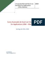 Programa de Estudios Curso Avanzado Excel Vba Macros(2)