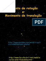 Movimento de rotação e translação