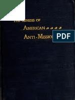 Genesis of America Carr