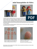 Boneco de Feltro Nuno Dolls