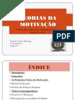 TEORIAS DA MOTIVAÇÃO slides2