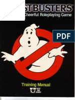 Ghost Busters RPG - Training Manual