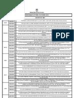 Cronograma Electoral Santa FE