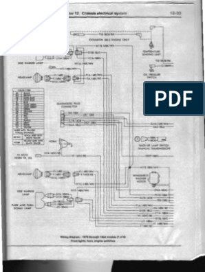 [DHAV_9290]  1983 Dodge Ram Van B250- Electrical | 1983 Dodge Ram Wiring Diagram |  | Scribd