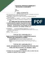 EL ANÁLISIS DE DATOS
