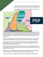 Civil War Close Between the Kia and Burmese Army